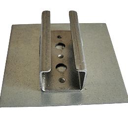 U type hinge welding on control panels