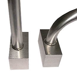 Stainless Steel Tube welding on Stainless Steel Solid